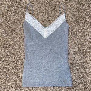 NWOT Hollister lace tank top